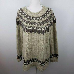 Denim Supply Ralph Lauren Lg chunky knit sweater